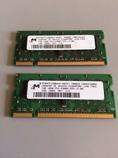 RAM Computer Memory Laptop 1GB 1Rx8 PC2-5300S-555-12-B0 (1) Pair = 2 GB