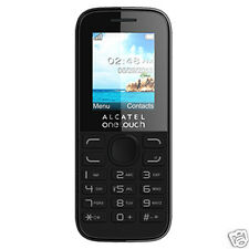 Brand New Vodafone Alcatel 10.52 2G Pay As You Go PAYG Cheap Mobile Phone, Black