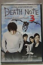 Death Note 3 NTSC DVD