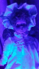 HAUNTED PORCELAIN BABY DOLL ~ HELEN ~ VERY ACTIVE ~ BI POLAR SPIRIT DOLL ~