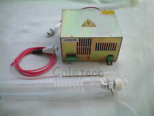 40W  CO2  Laser Tube +  Power Supply Engraver 70cm Factory OUTLET