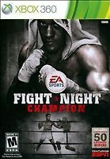 Fight Night Champion XBOX 360 w/CASE GREAT