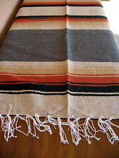 Diamond Serape ONWDia-Grey New West Southwest Southwestern Mexican Blanket