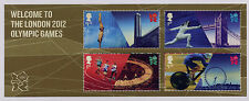 GB 2012 WELCOME to LONDON OLYMPIC GAMES MINIATURE SHEET MNH