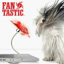 Fan Tastic USB Computer Fan - Unusual Novelty Gift - NEW