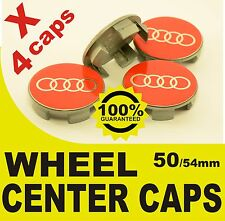 tapa llantas wheel center caps 50mm 54mm 4x Audi