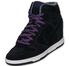 Nike Dunk Sky Hi Black Court Purple Size 8 Women's NEW