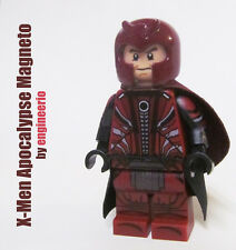 LEGO Custom X-Men Apocalypse Magneto Marvel Superheroes movie wolverine
