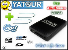 YATOUR USB AUX Iphone Interfaccia Lettore MP3 Autoradio FIAT ALFA LANCIA +Chiavi