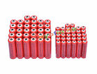 32 AA 3000mAh + 32 AAA 1800mAh 1.2V NI-MH Rechargeable Battery 2A 3A Red Cell