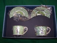 "WEDGWOOD MILLENNIUM COLLECTION  "" 19th CENTURY  CUPS AND SAUCERS"""