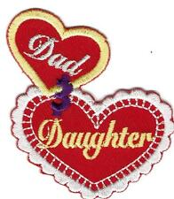 Girl DAD & DAUGHTER trip Event Day Fun Patches Crests Badges SCOUT GUIDE Father