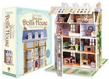Usborne Slot Together Victorian Dollhouse with Book includes furniture and doll