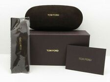 New Tom Ford Eyeglasses Hard Clamshell Case,Outer box + Cleaning Cloth