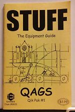 QAGS Stuff: The Equipment Guide, First Printing (Hex Games, 1998, Out Of Print)
