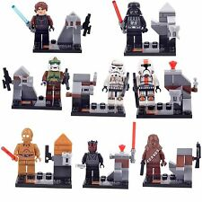 The Force Awakens Star Wars Obi Wan Kenobi 8 Minifigures Building Brick Toy lEGO