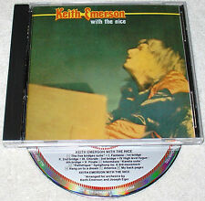 KEITH EMERSON (of ELP) with The NICE  ~RARE West GERMAN CD ~ 1st PRESS ~ NM/EX+