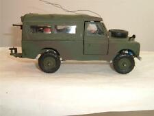 BRITAINS ARMY LAND ROVER COMES IN COMBAT COLOURS CONVERSION & CANOPY SEE PHOTOS