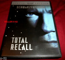TOTAL RECALL dvd RARE ARNOLD commentary PHILLIP K DICK SHARON STONE verhoeven