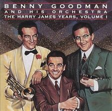 Harry James Years 1 1993 by Goodman, Benny - Disc Only No Case
