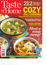 TASTE OF HOME, 212 RECIPES & TIPS COZY FALL COOKING. SEP / OCT 2014 (HOST A SOUP