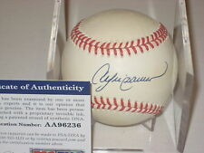 ANDRE DAWSON (Cubs) Signed Official NL Baseball w/ PSA COA