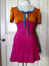 Vintage 60s Micro Mini Dress Mod Go Go  Atomic