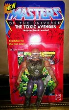 Custom The Toxic Avenger Masters of the Universe figure on card Custom Joe Amato