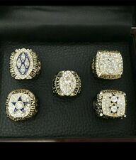 Dallas cowboys super bowl replica ring collection 5 rings!