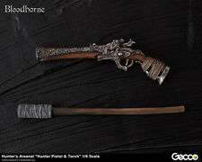 Bloodborne Hunter's Arsenal Hunter Pistol Torch 1/6 Scale Weapon Gecco Preorder