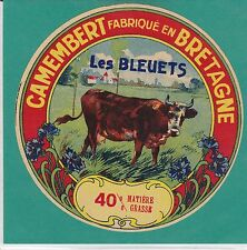 F812 FROMAGE CAMEMBERT LES BLEUETS  BRETAGNE
