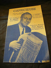 Partition Capricieuse A Baldi Louis Georgin Music Sheet