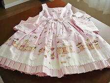 Angelic Pretty Pink Sweet Lolita Country of Sweets Gingerbread JSK Dress NWT