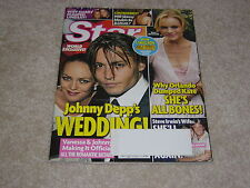 JOHNNY DEPP WEDDING October 9 2006 STAR MAGAZINE * KATE BOSWORTH