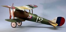 Nieuport 28 #1819 Dumas Balsa Wood Model Airplane Kit(Suitable for Electric R/C)
