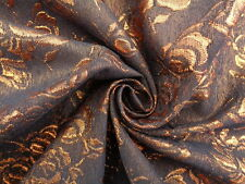 Brocade 'Bronze Giant', (per metre) dress fabric, sewing,