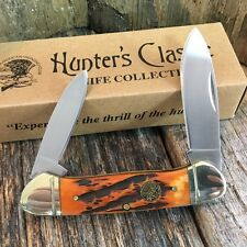 Limited Edition Canoe Knife by North American Hunting Club Bone Handles H1739 -F
