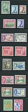 Fiji SG280/95 including SG288a1954 set M/Mint