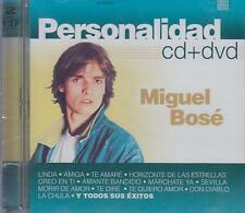 CD - Miguel Bose NEW Personalidad Includes 1 CD & 1 DVD FAST SHIPPING !