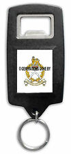 GURKHA STAFF & PERSONNEL SUPPORT BOTTLE OPENER KEY RING