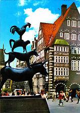 Bremen , Stadtmusikanten , Ansichtskarte ,1987 gelaufen