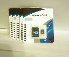 LOT OF 4*(32GB MEMORY CARD CLASS 10) For CELL PHONE, TABLET'S AND CAMERA