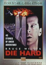 Die Hard-5 Star Collection (DVD, 2002)*New*Rare OOP*Bruce Willis