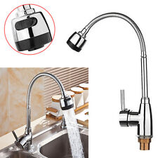 360° Flexible Faucet Zinc Alloy Hot Cold Taps Water Outlet Kitchen Wash Basin