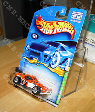 HOT WHEELS TREASURE HUNT 2001 2 of 12 ROLL CAGE COLLECTOR #002 IN PROTECTO