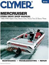 1986-1994 MerCruiser Alpha One Bravo One Two Three 3.0 1 2 3 Repair Manual B742
