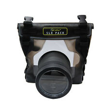 UNDERWATER WATERPROOF CASE FOR CANON REBEL XSi 450D 550D 600D 650D T4i T3i 7D 1D