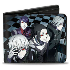 Tokyo Ghoul Group Bifold Buckle Down Wallet Anime Manga NEW