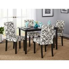 Simple Living Sophia 5-piece Parson Dining Set Table Room Chairs Piece Dining