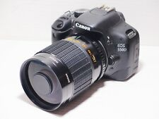 500mm lens =750mm on CANON DIGITAL 7D 70D 60D for Wildlife Photography 500D EOS